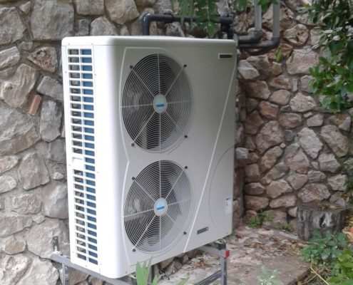 pompa di calore per piscina