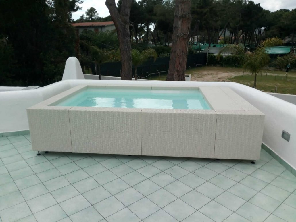 Mini Laghetto Per Terrazzo piscine da terrazzo, piccole e leggere ~ techno pool