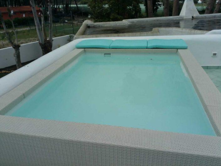 Piscina terrazzo Techno Pool