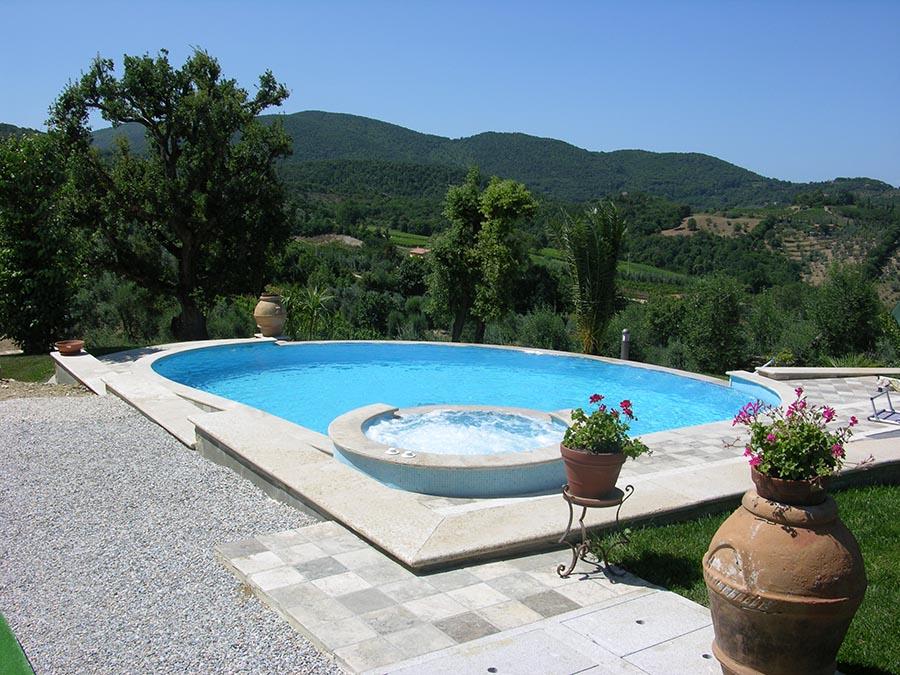Piscine Seminterrate Prezzi Chiavi In Mano Techno Pool